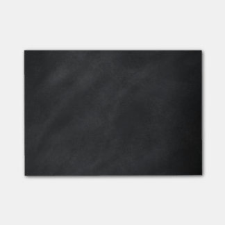 Retro Zwarte Textuur van het Bord Post-it® Notes