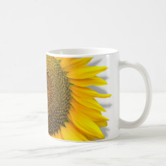 Reusachtige Zonnebloem, hart binnen /Mug grootte Koffiemok