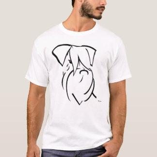 Reuze Natuurlijke eared Schnauzer T Shirt