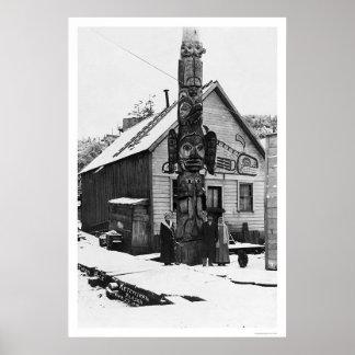 Reuze Totem Ketchikan 1913 Poster
