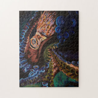 Reuze Vreedzame Octopus Legpuzzel