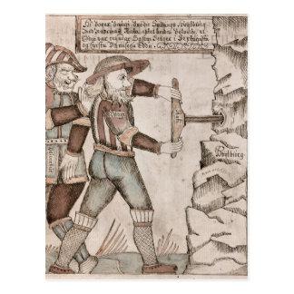 ReuzeBaugi, overreed door Odin Briefkaart