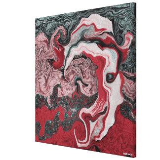 Revolverschot Canvas Print