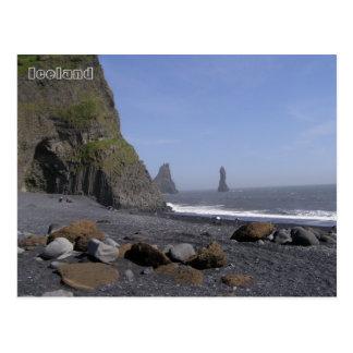 Reynisdrangar, Reynisfjara strand, IJsland Briefkaart