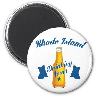 Rhode Island die team drink Magneet