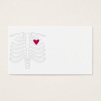 Ribbenkast en Hart Visitekaartjes