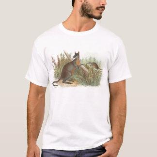 Richard Lydekker - Wallaby Met zwarte staart T Shirt