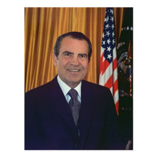Richard Nixon Briefkaart