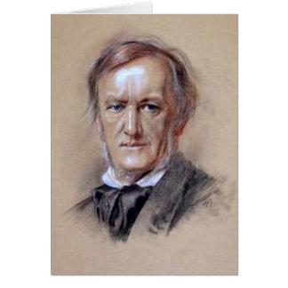 Richard Wagner - het Genie van de Muziek Briefkaarten 0