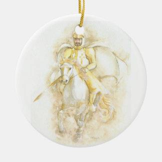 Ridder Rond Keramisch Ornament