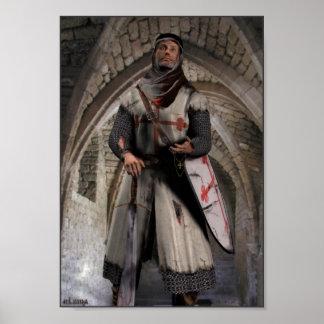 Ridder Templar - de laatste tribune Poster