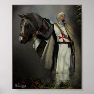 Ridder Templar Poster