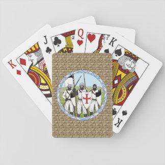 Ridders Templar Pokerkaarten