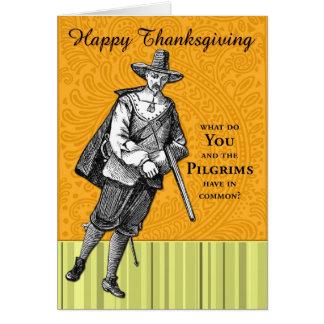 Riddle van de Thanksgiving Kaart