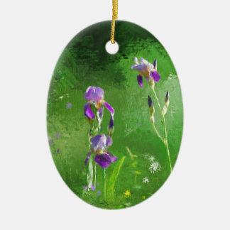 Rij van Irissen Keramisch Ovaal Ornament