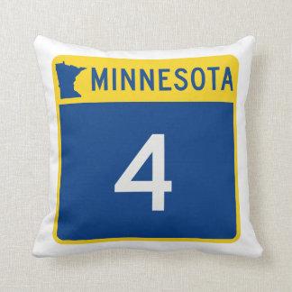 Rijksweg 4 van Minnesota Sierkussen