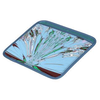 Riksja van Sararis van de Bezinning van Aqua de Sleeves Voor iPad