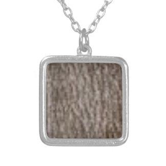 rimpelingen van witte schors zilver vergulden ketting