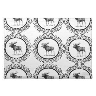 rings kudde van Amerikaanse elanden Placemat