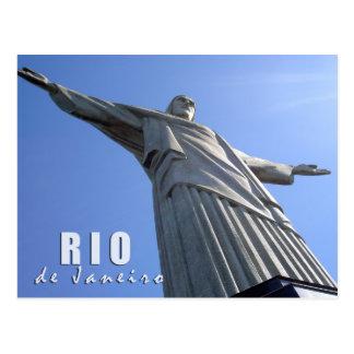 Rio de Janeiro - Christus de Verlosser Briefkaart