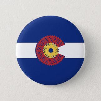 Rit Colorado (de Cassette van de Fiets) Ronde Button 5,7 Cm