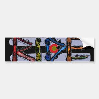 Rit Colorado snowboard bumpersticker