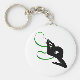 Ritmische Gymnastiek Keychain Sleutelhanger
