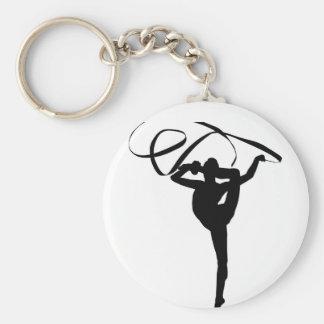 Ritmische Gymnastiek - Lint Sleutelhanger