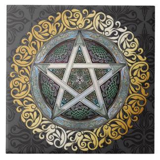 Ritueel van de Hekserij van de Steen van de tempel Tegeltje