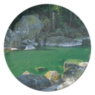 Rivier in het Nationale Park van de Cascade van Bord