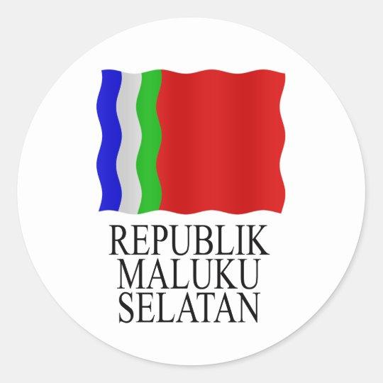 RMS flag Ronde Sticker
