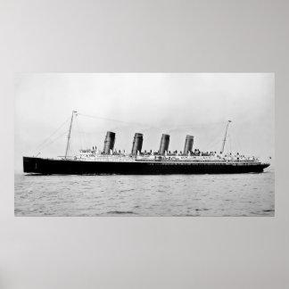 RMS Mauretanië Poster