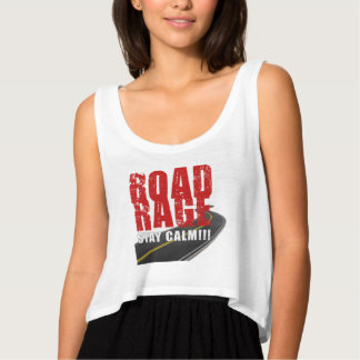 RoadRage-StayClam door Do_Tees Tanktop