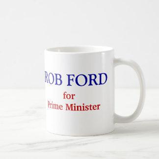 Rob Ford voor Eerste minister Koffiemok