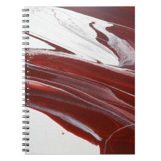 Robijnrode Pijlers Notitieboek