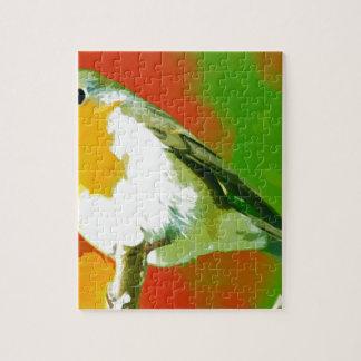 Robin Bird Legpuzzel