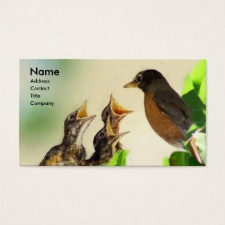 Robin Family Visitekaartjes