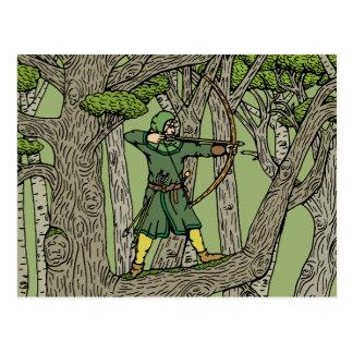 Robin Hood Briefkaart