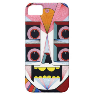 robot schedel barely there iPhone 5 hoesje