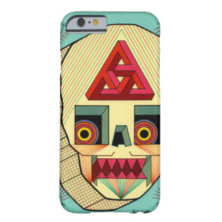 robot schedel barely there iPhone 6 hoesje