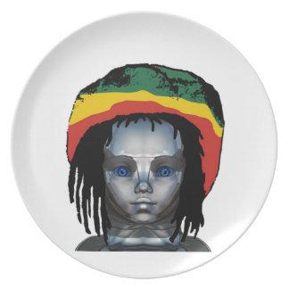 Robotica Rastafarian Melamine+bord
