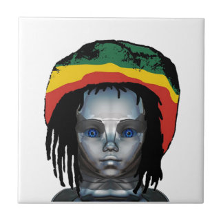 Robotica Rastafarian Tegeltje