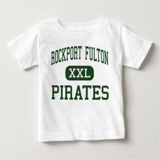Rockport Fulton - Hoge Piraten - - Rockport Texas Baby T Shirts
