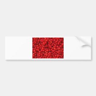 Rode aalbessen bumpersticker