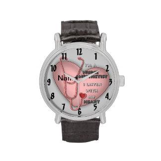Rode Anesthetist Verpleegster Horloges