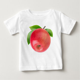 Rode appel baby t shirts