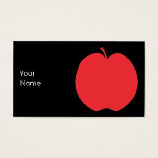 Rode Appel Visitekaartjes