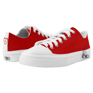 Rode B & Rood Hart + Lage Hoogste Schoenen