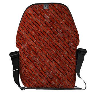 Rode Bakstenen muur ook ~ Messenger Bag