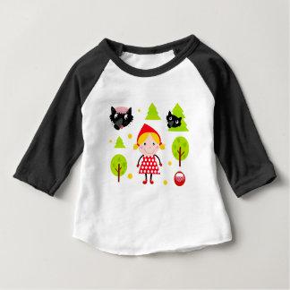 Rode berijdende de kapUitgave van ontwerpers Baby T Shirts
